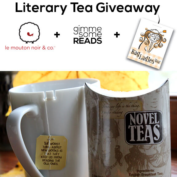 Literary Tea Giveaway | gimmesomereads.com
