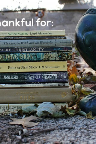 10 Books I'm Thankful For | gimmesomereads.com