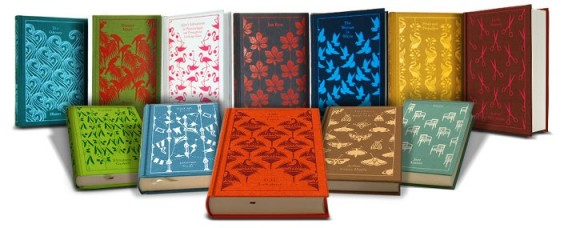Penguin Books Cloth Classics series designed by Coralie Bickford-Smith