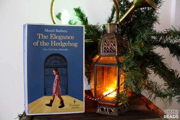 The Elegance of the Hedgehog by Muriel Barbery | gimmesomreads.com