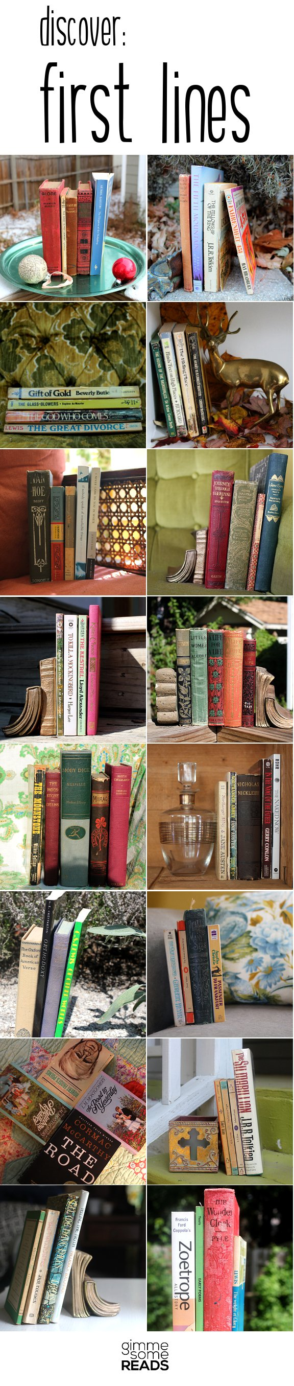 Discover: First Lines montage | Gimme Some Reads