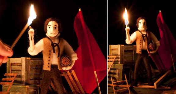 Cozy Classics Fire - Les Miserables
