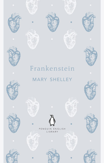 Penguin English Library: Frankenstein designed by Coralie Bickford-Smith