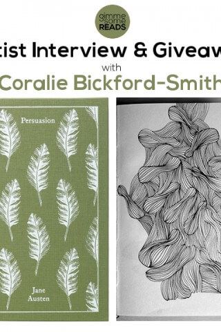 Artist Interview & Giveaway: Coralie Bickford-Smith | gimmesomereads.com