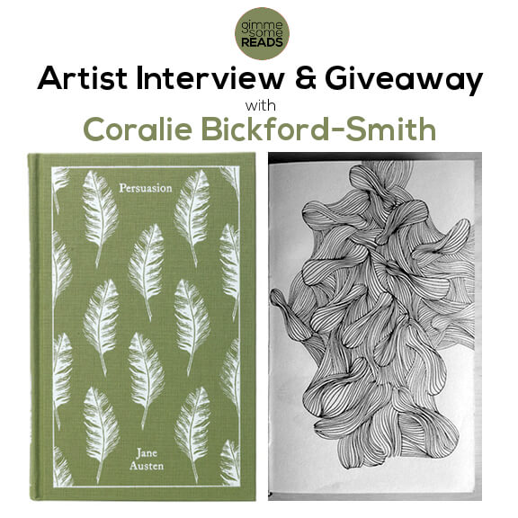 Artist Interview & Giveaway: Coralie Bickford-Smith   gimmesomereads.com