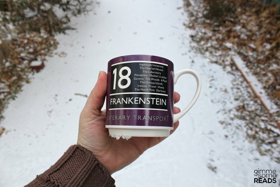 Literary Transport Mug from Wild & Wolf | gimmesomereads.com