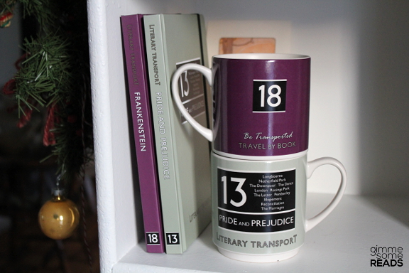 Literary Transport Mugs & Notebooks from Wild & Wolf | gimmesomereads.com