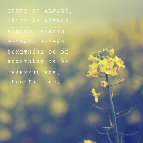 Always Thankful | www.gimmesomestyleblog.cm