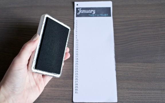 {Thankful Week} DIY {FREE} Printable Calendar | gimmesomestyleblog.com