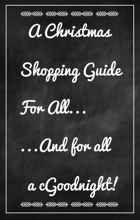 {Christmas Shopping} What to Buy? | www.gimmesomestyleblog.com
