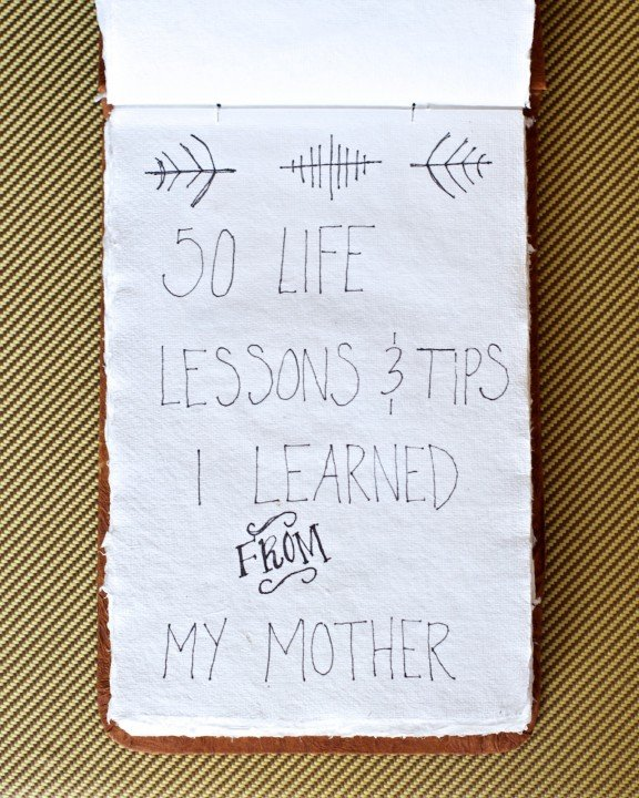 {DIY} Life Lessons Notebook   www.gimmesomestyleblog.com #gifts