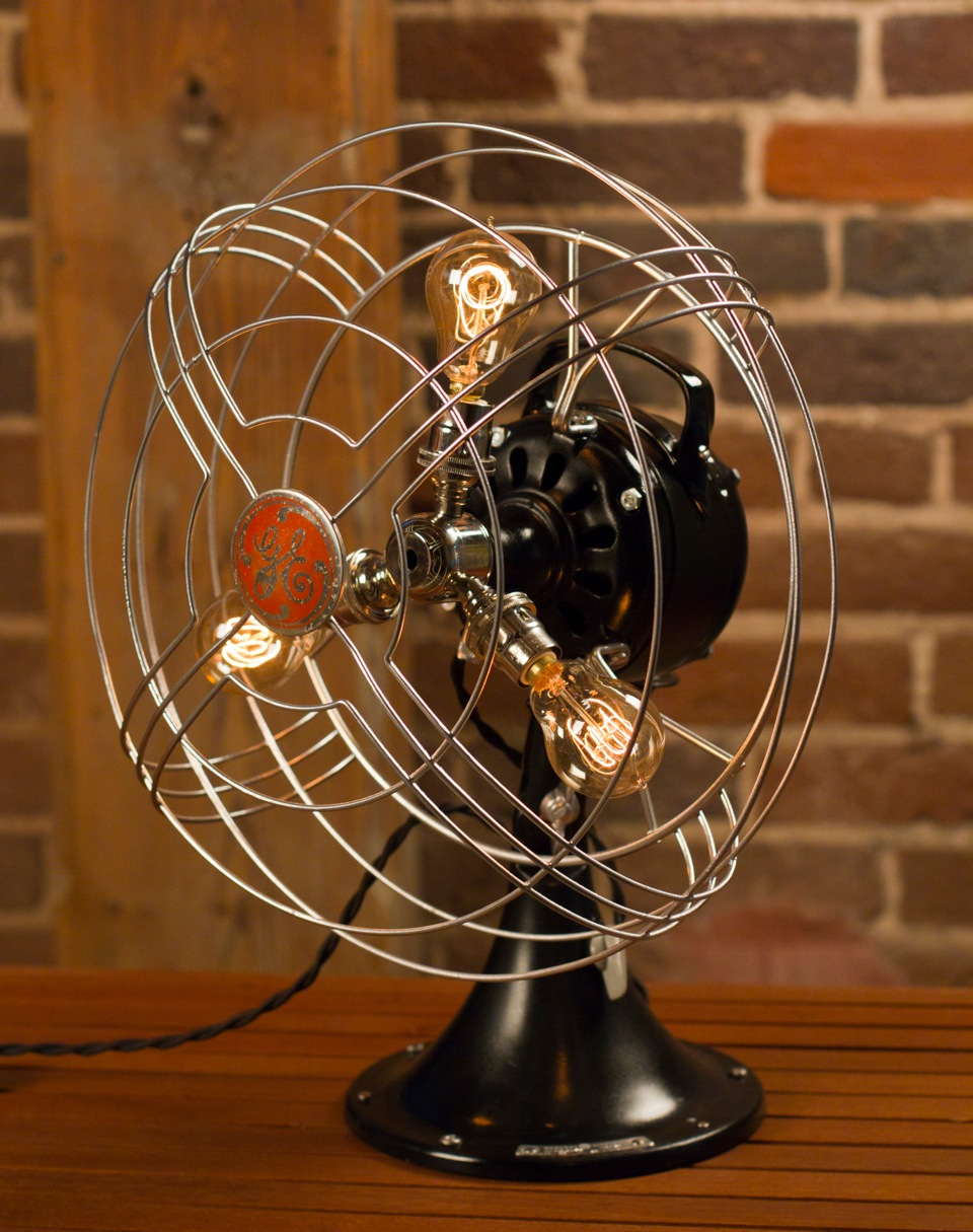 Vintage Fan Lamp Giveaway Gimme Some Style