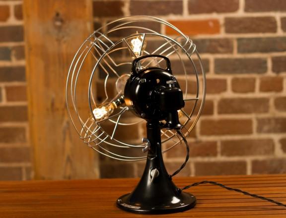 Vintage Fan Lamp Giveaway! | www.gimmesomestyleblog.com #giveaway