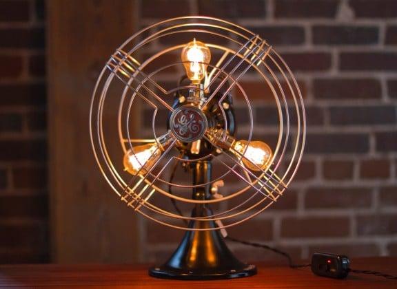 Vintage Fan Lamp Giveaway! ($395.00 Value!) | www.gimmesomestyleblog.com #giveaway