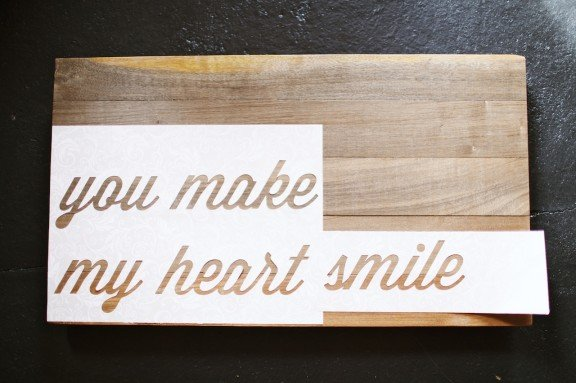 easy tutorial on making a wood text art wwwgimmesomestyleblogcom