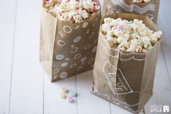 Valentine Treat Bags   www,gimmesomestyleblog.com #diy #valentine