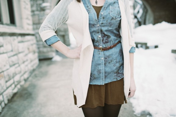 Layers and floral | www.gimmesomestyleblog.com #layers