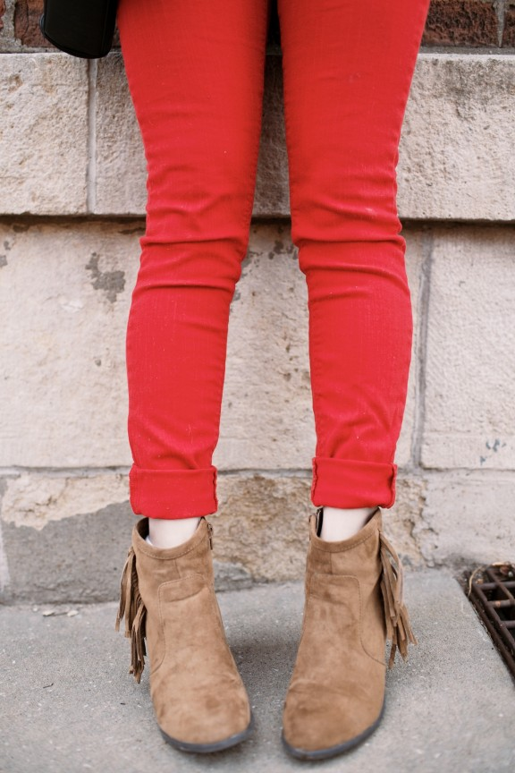 Red pants | www.gimmesomestyleblog.com
