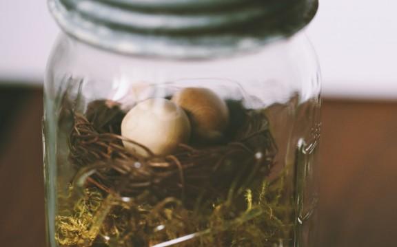 Easter Mason Jar | www.gimmesomestyleblog.com #diy #masonjar #easter
