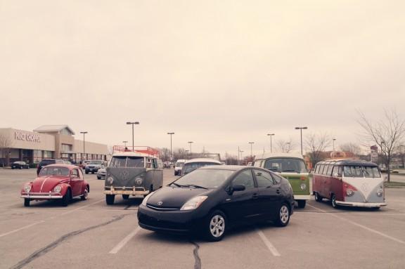 VW and Prius | www.gimmesomestyleblog.com