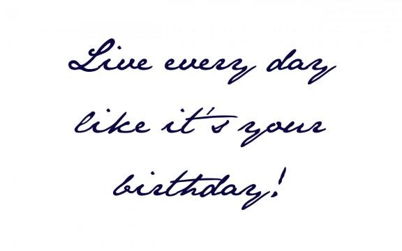 Live every day like it's your birthday! | www.gimmesomestyleblog.com