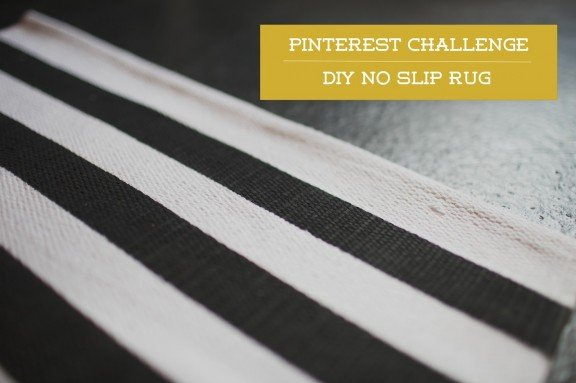 DIY No-Slip Rug | www.gimmesomestyleblog.com