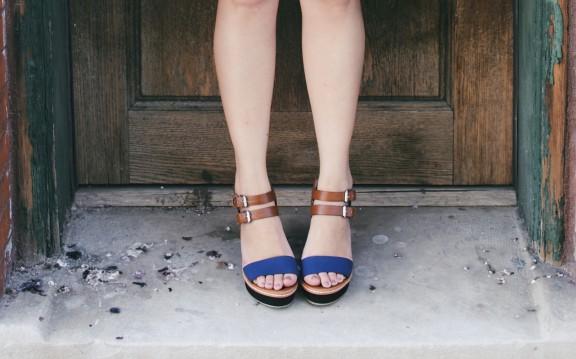 Denim and heels | www.gimmesomestyleblog.com