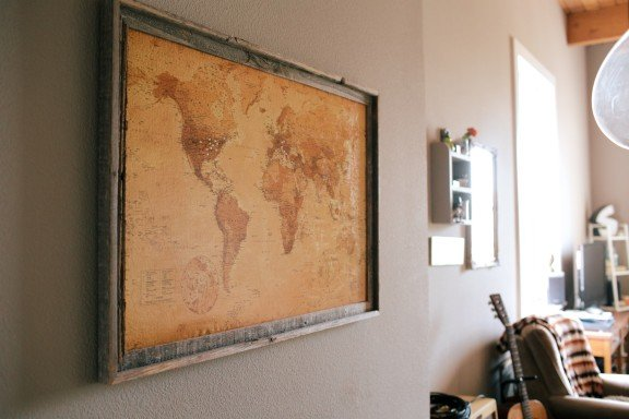 DIY Corkboard Map Gimme Some Oven - Us travel map on cork board