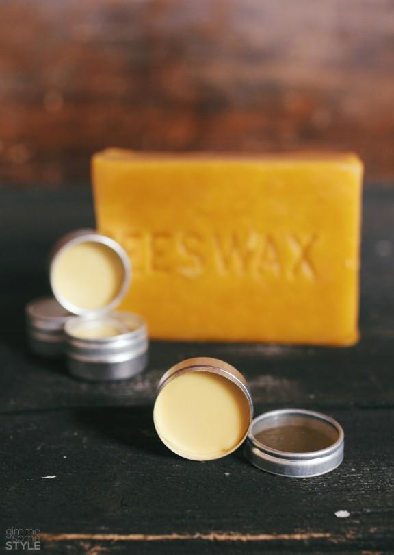 DIY Rosewater Lip Balm | www.gimmesomestyleblog.com #beeswax #lipbalm #diy #rosewater #natural #homemade