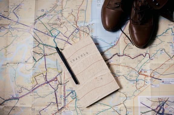 DIY Travel Journal | gimmesomestyleblog.com  #travel #journal #diy #write