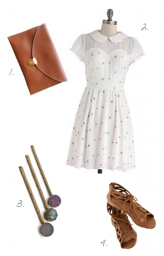White Summer Dress | www.gimmesomestyleblog.com #weeklywear #dress #ootd #wear
