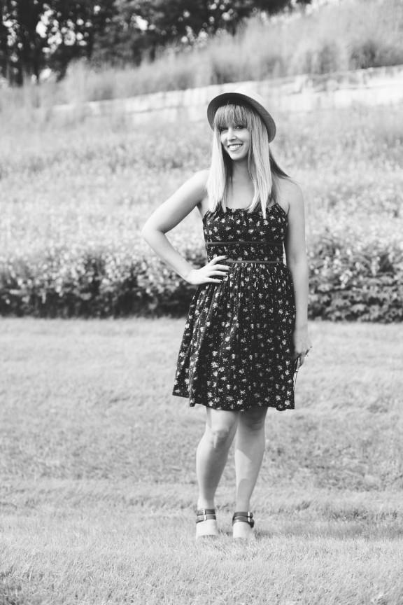 Floral Sun Dress | www.gimmesomestyleblog.com #ootd #wear #whattowear #dress