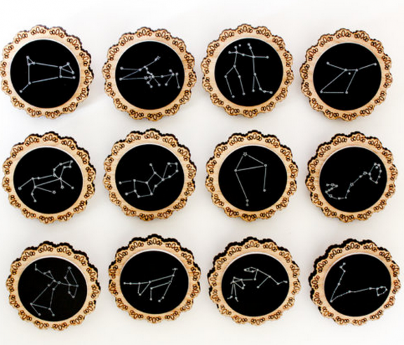 Constellation Brooches by Shadeofabonsai | www.gimmesomestyleblog.com #wear #ff #fridayfavorites