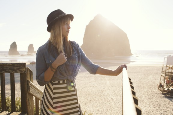Maxi skirt on the beach | www.gimmesomestyleblog.com #outfit #whattowear