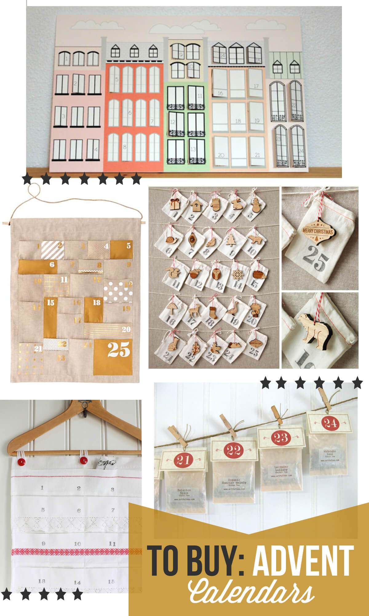 Advent Calendar House Diy : Advent calendars to buy gimme some oven