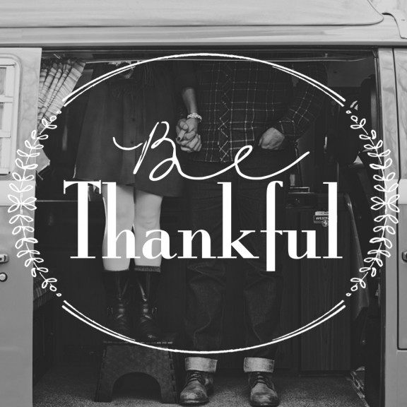 Be Thankful | www.gimmesomeoven.com/style #quotes #thankful