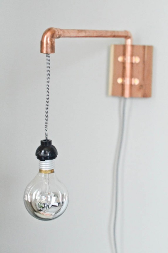 Friday Favorites: Copper Sconce | www.gimmesomeoven.com/style via Camille Styles