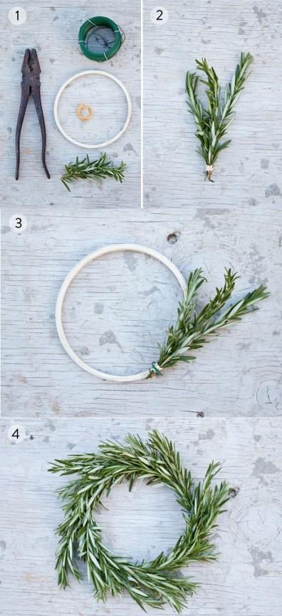 Friday Favorites: Rosemary Wreath | www.gimmesomeoven.com/style via  theprettyblog.com
