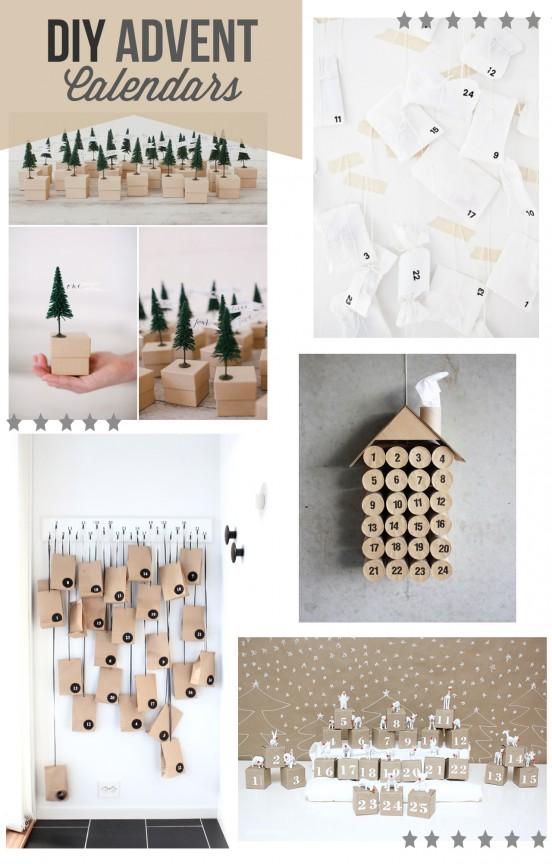 10 DIY Advent Calendars | www.gimmesomeoven.com/style #diy #advent #christmas