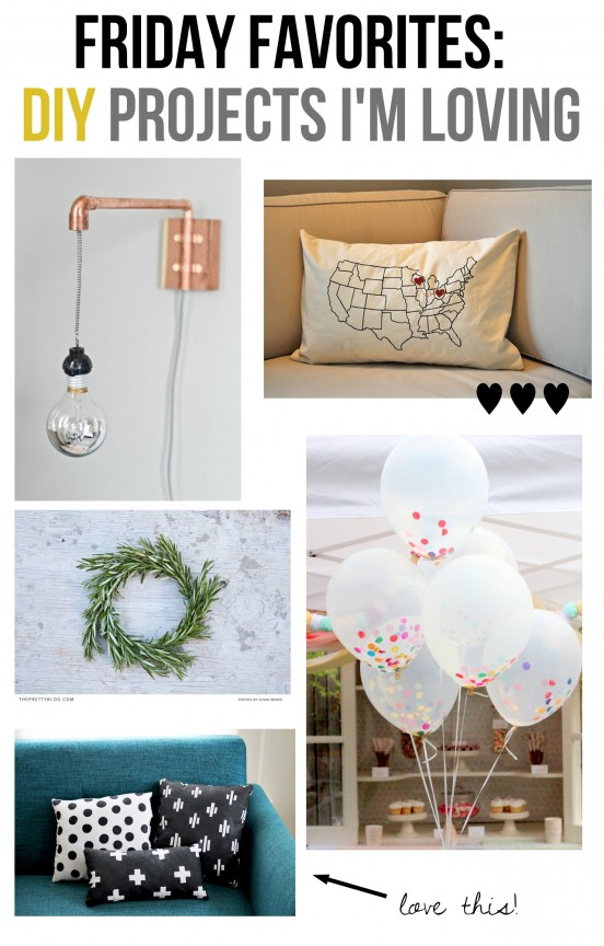 Friday Favorites: DIY Projects | www.gimmesomeoven.com/style #fridayfavorites