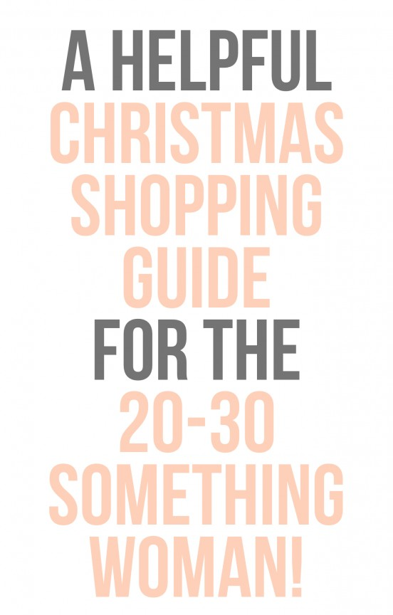 Not sure what to buy for christmas? Check out this shopping guide! | www.gimmesomeoven.com/style #shopping #christmas #giftguide