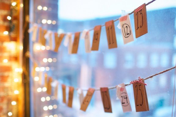 A Note a Day Advent Calendar | www.gimmesomeoven.com/style #advent #christmas #homemade #DIY