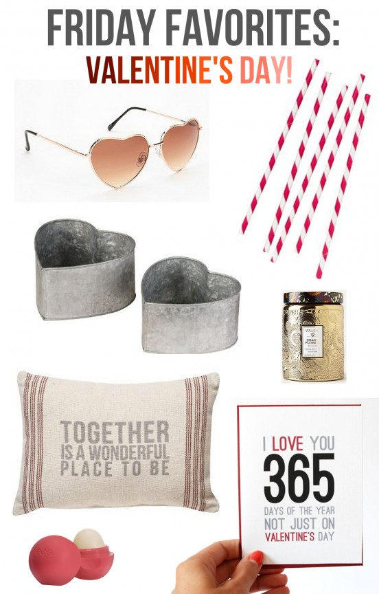 Friday Favorites-Valentine's Day | www.gimmesomeoven.com/style #fridayfavorites #ff