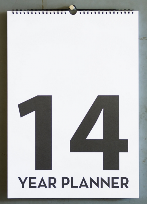 2014 Planner | www.gimmesomeoven.com/style #fridayfavorites #organize #ff